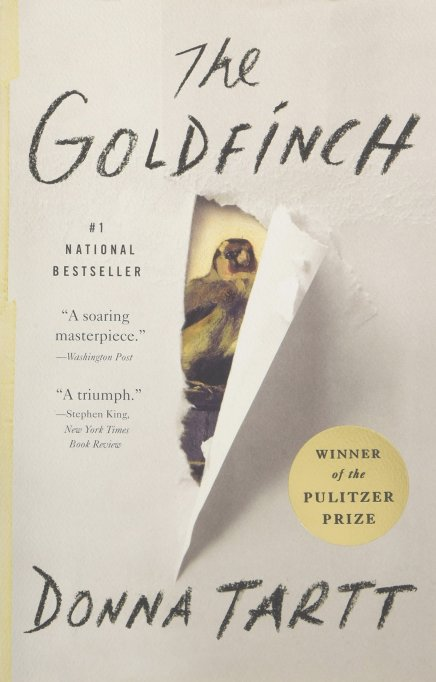 'The Goldfinch' by Donna Tartt