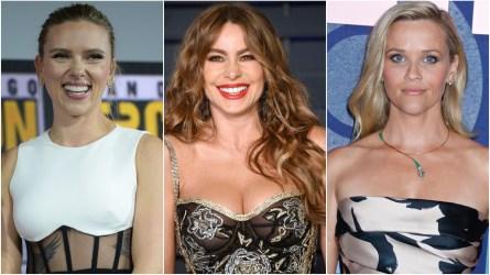 Scarlett Johansson; Sofia Vergara; Reese Witherspoon.