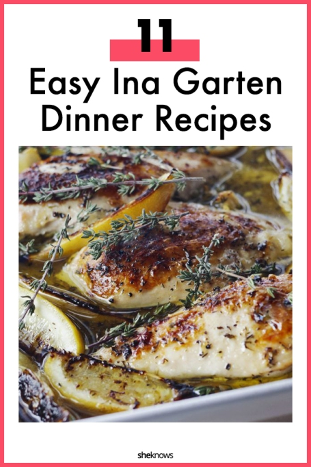 Ina Garten's Best Easy Weeknight Dinner Recipes – SheKnows