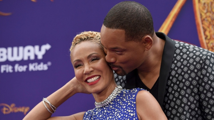 Jada Pinkett Smith & Will Smith.