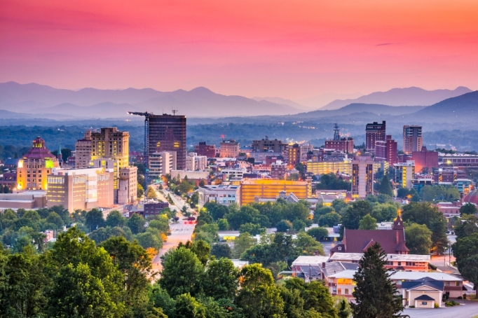 Asheville, North Carolina.
