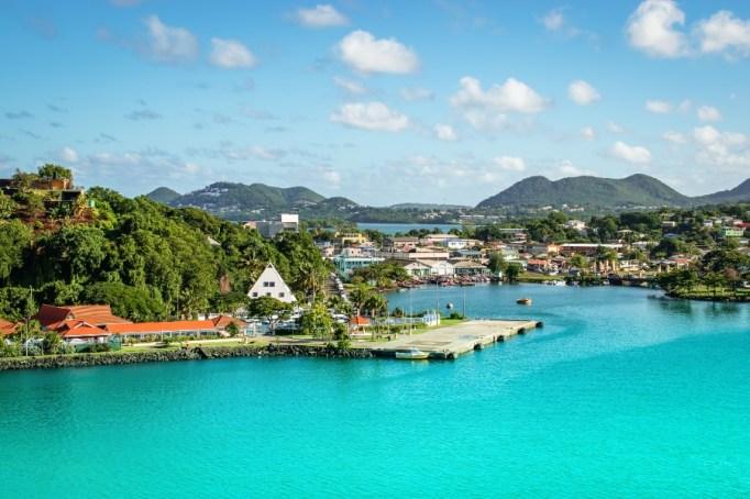 St. Lucia, Castries.