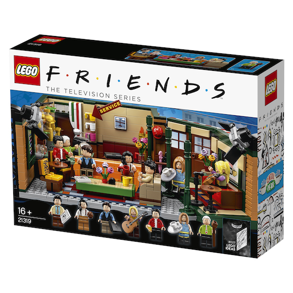 LEGO Central Perk set box