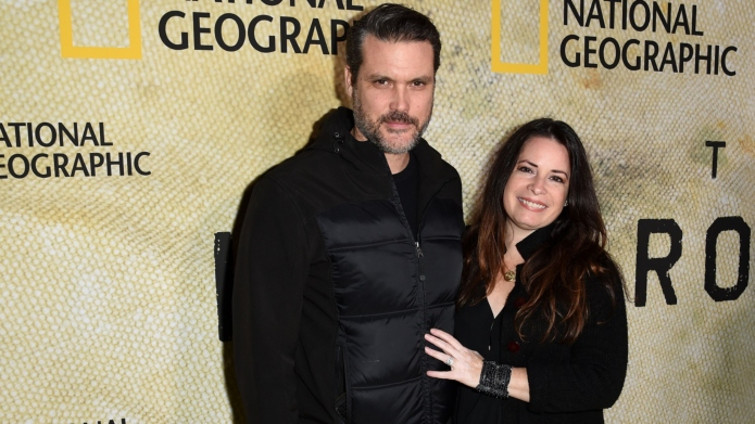 Mike Ryan and Holly Marie Combs.