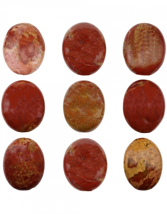Red jasper touchstone
