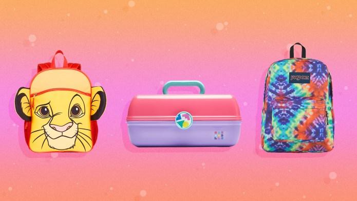 90s School Supplies Backpacks