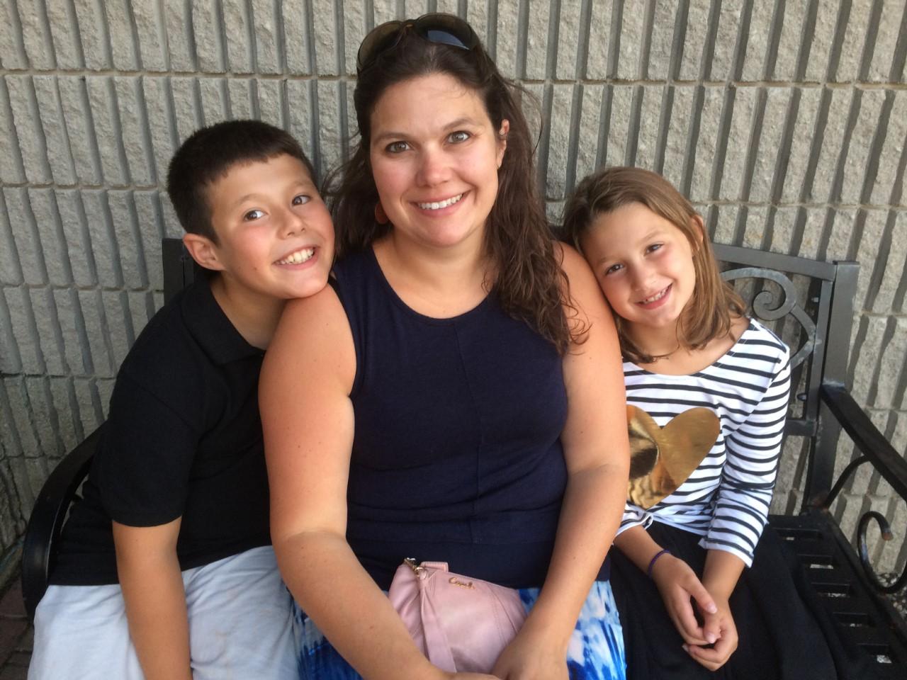 Sarah Walker Caron Family