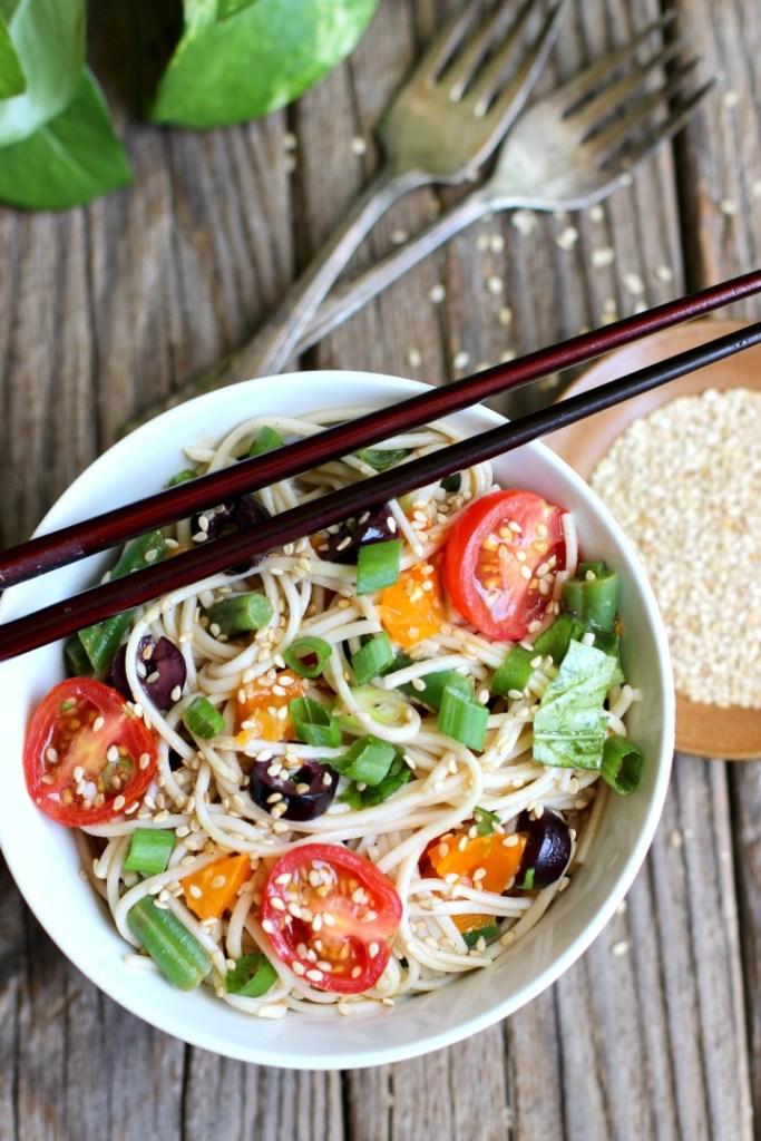 Summer Meatless Monday Recipes: Vegan Cold Soba Noodle Salad