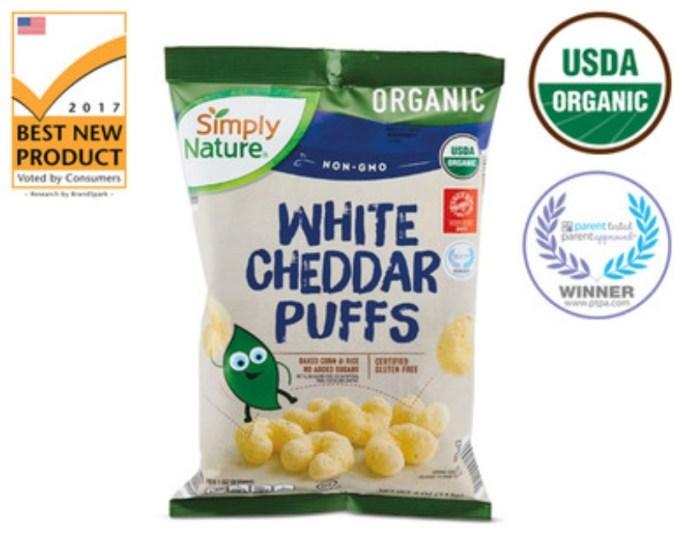 White Cheddar Puffs.
