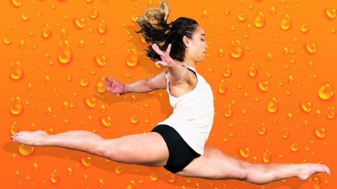 gymnast Katelyn Ohashi