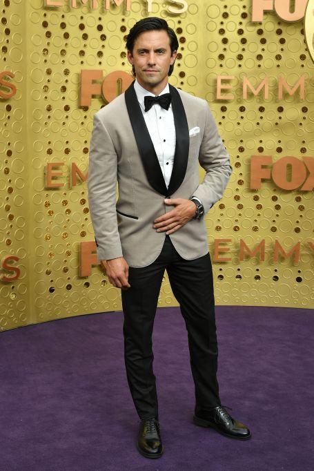 Milo Ventimiglia71st Annual Primetime Emmy Awards, Arrivals, Microsoft Theatre, Los Angeles, USA - 22 Sep 2019Wearing Brunello Cucinelli, Custom