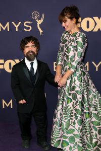 Peter Dinklage and Erica Schmidt71st Annual Primetime Emmy Awards, Arrivals, Microsoft Theatre, Los Angeles, USA - 22 Sep 2019