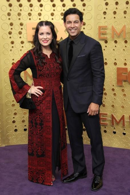 Nicole Huertas and Jon Huertas71st Annual Primetime Emmy Awards, Arrivals, Microsoft Theatre, Los Angeles, USA - 22 Sep 2019