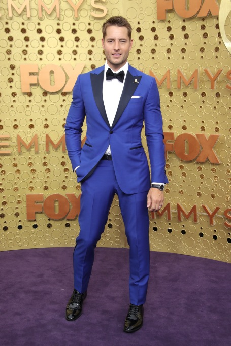 Justin Hartley71st Annual Primetime Emmy Awards, Arrivals, Microsoft Theatre, Los Angeles, USA - 22 Sep 2019Wearing Isaia