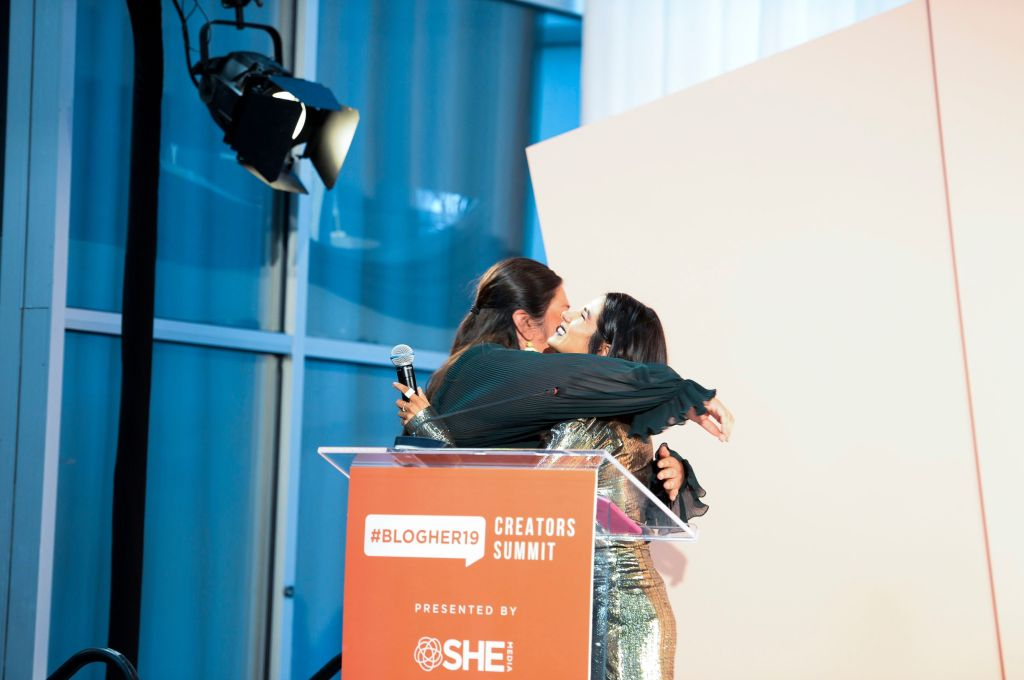 Monica Ramirez and Diane Guerrero#BlogHer19 Creators Summit at Brooklyn EXPO Center, New York, USA - 19 Sep 2019