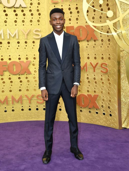 Niles Fitch arrives at the 71st Primetime Emmy Awards, at the Microsoft Theater in Los Angeles71st Primetime Emmy Awards - Arrivals, Los Angeles, USA - 22 Sep 2019