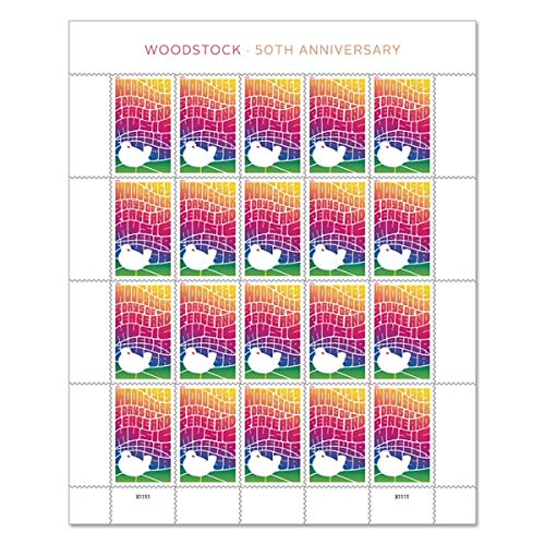 Woodstock postage stamps