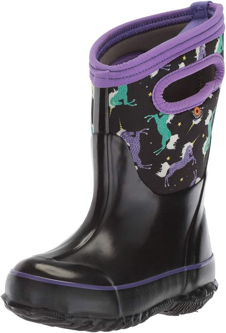 Fall kids' shoes 2019 Bogs Insulated Rain Boots in Unicorn Print