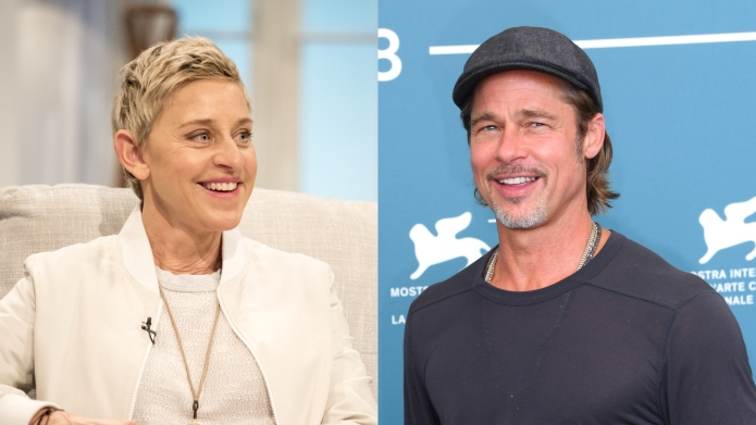 Ellen DeGeneres Dated One of Brad Pitt's Exes & Someone Needs to Name Names