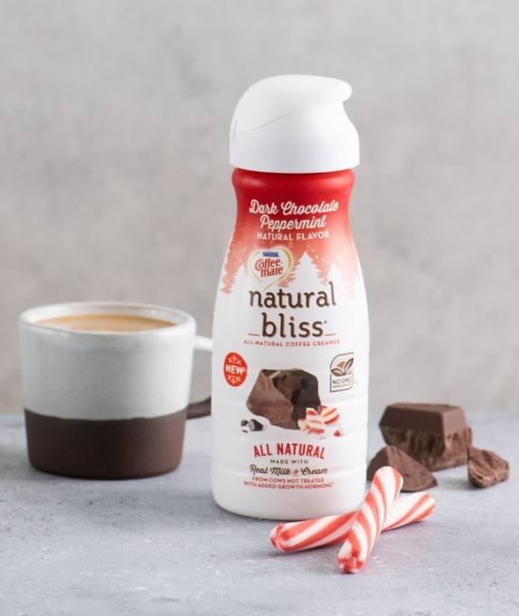 Dark chocolate peppermint creamer