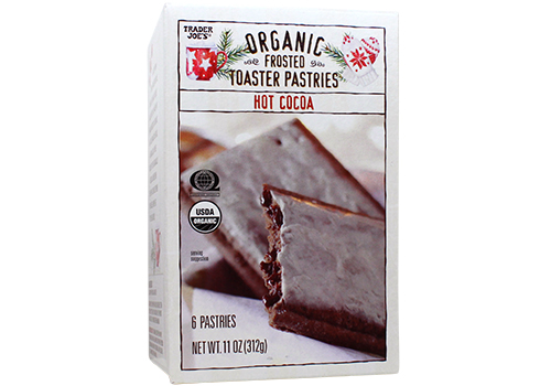 Trader Joe's hot cocoa frosted toaster pastries