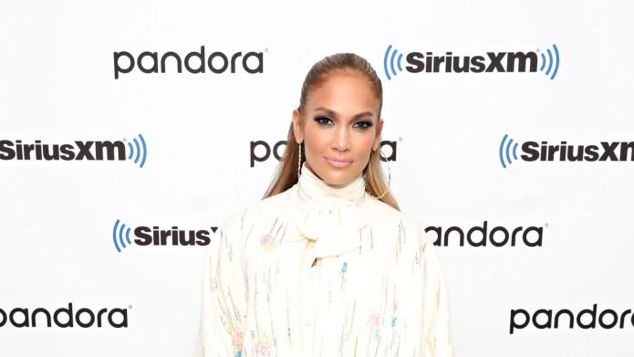 Jennifer Lopez at pandora SiriusXM
