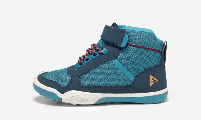 Fall 2019 kids' shoes Plae Kaiden Waterproof High Tops in Marllin