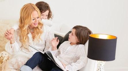 Rachel Zoe and kids