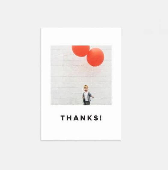 Thank you cards Artifact Uprising