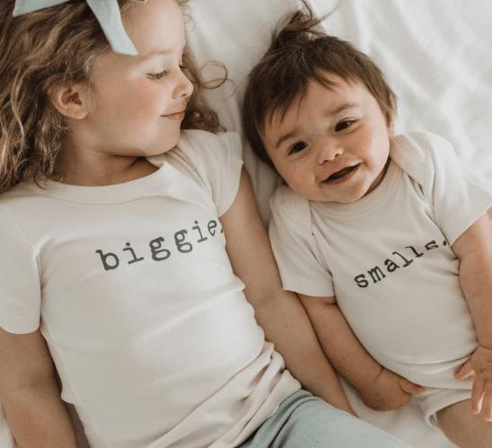 Gender-Neutral Kids Clothing: Finn + Emma tees