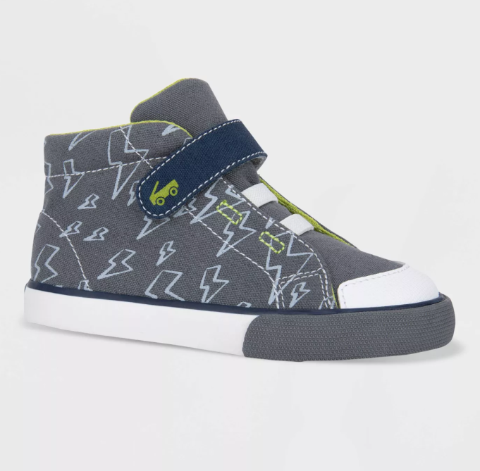 Fall 2019 kids' shoes See Kai Run Basics Belmont sneakers with lightning bolts