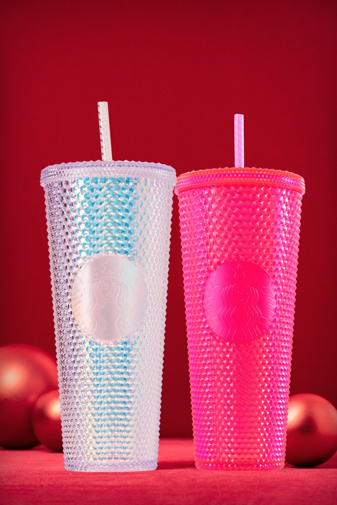 Irridescent Cold Cups