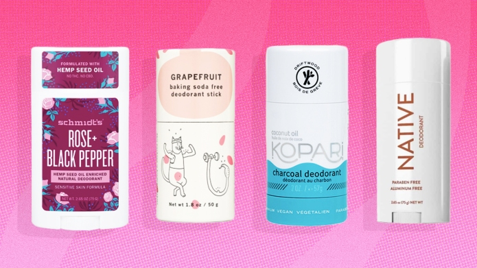 Natural Deodorants Without Baking Soda