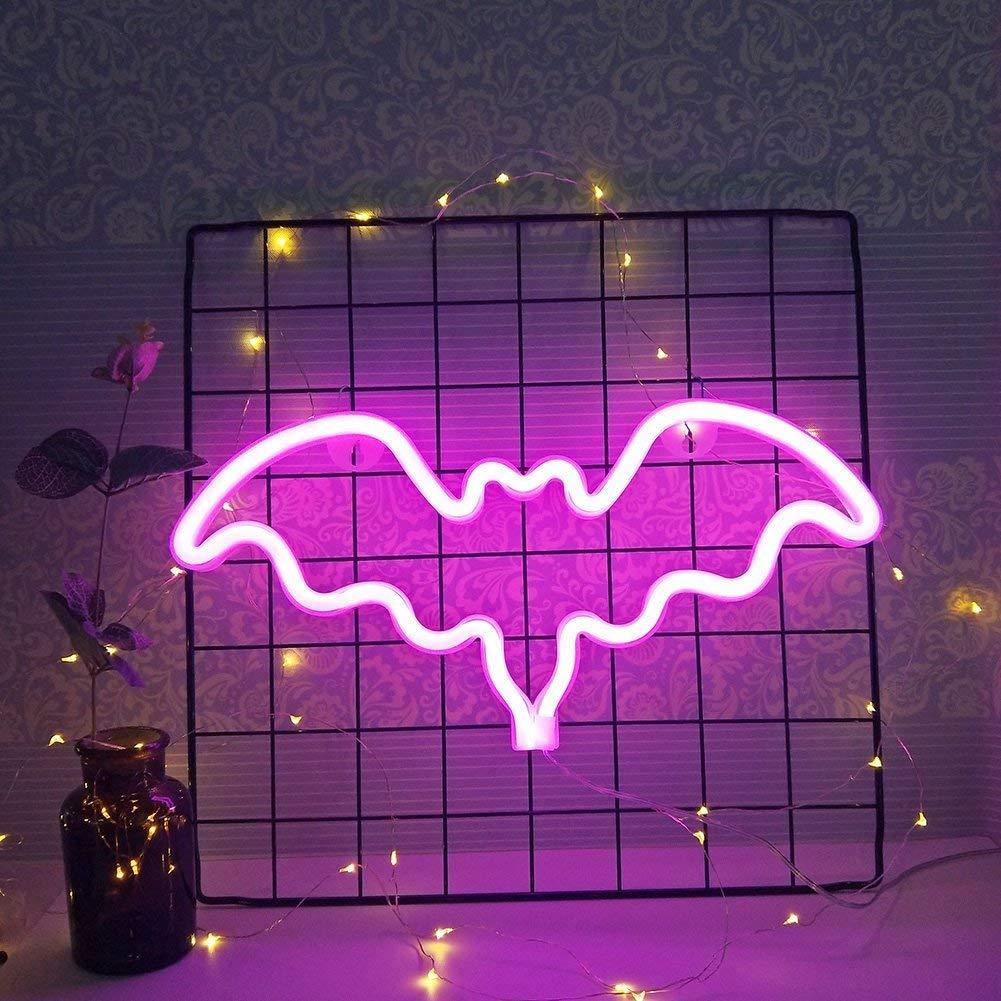 Bat Neon Light Led Sign