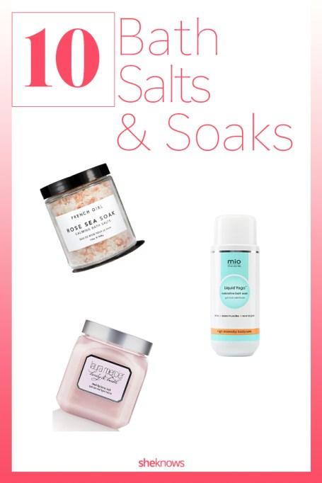 Best Bath Salts and Soaks