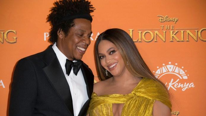 Beyonce & Jay-Z.