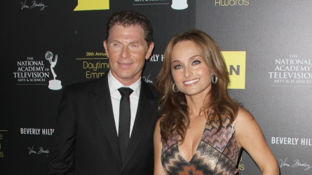 Bobby Flay and Giada De Laurentiis