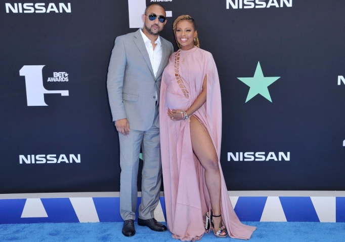 Eva Marcille and Michael Sterling.