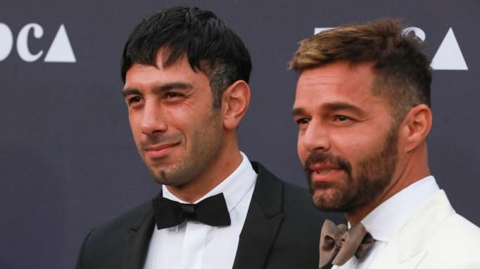 Ricky Martin & Jwan Yosef.