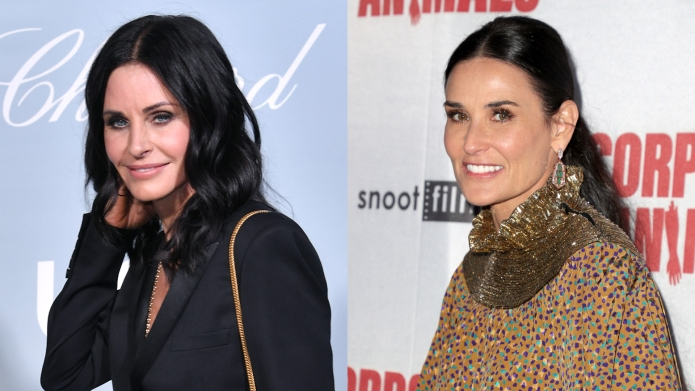 Lookalike Alert: Courteney Cox & Demi Moore Could Be Twins in This Instagram