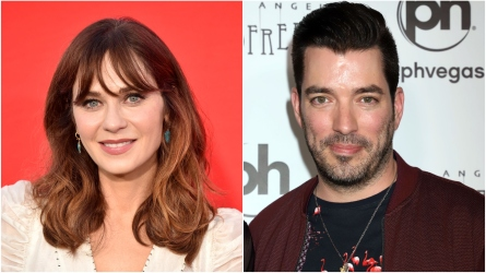 Zooey Deschanel; Jonathan Scott.