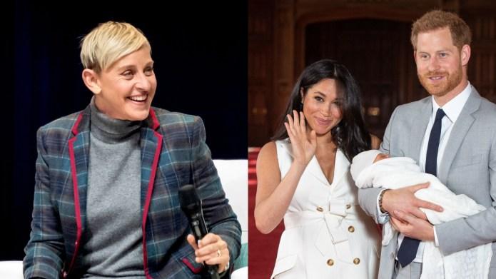 Ellen Degeneres Meghan Markle Prince Harry