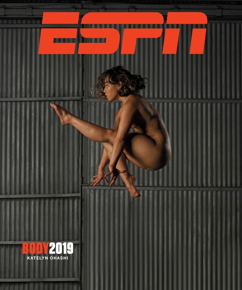Athletes naked Gorgeous Female