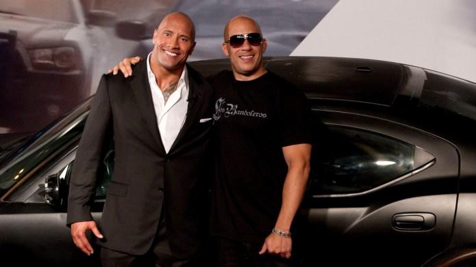 Dwayne Johnson & Vin Diesel.