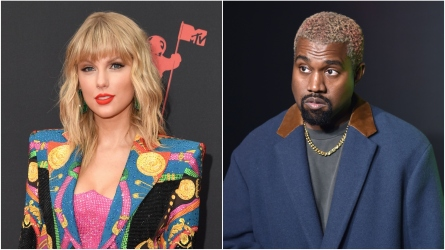 Taylor Swift; Kanye West.