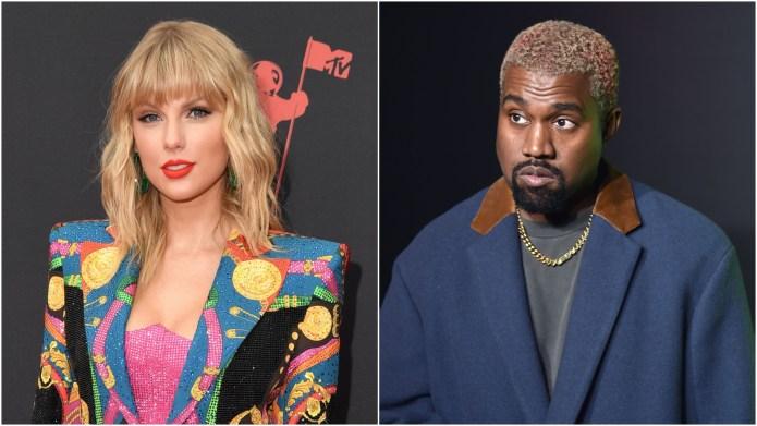 Taylor Swift; Kanye West.