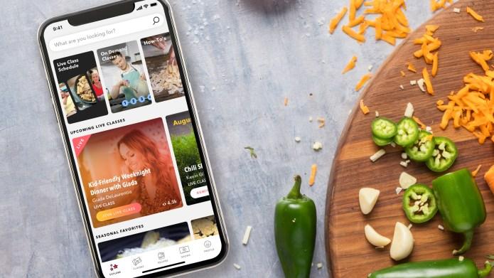 Food Network Kitchen app