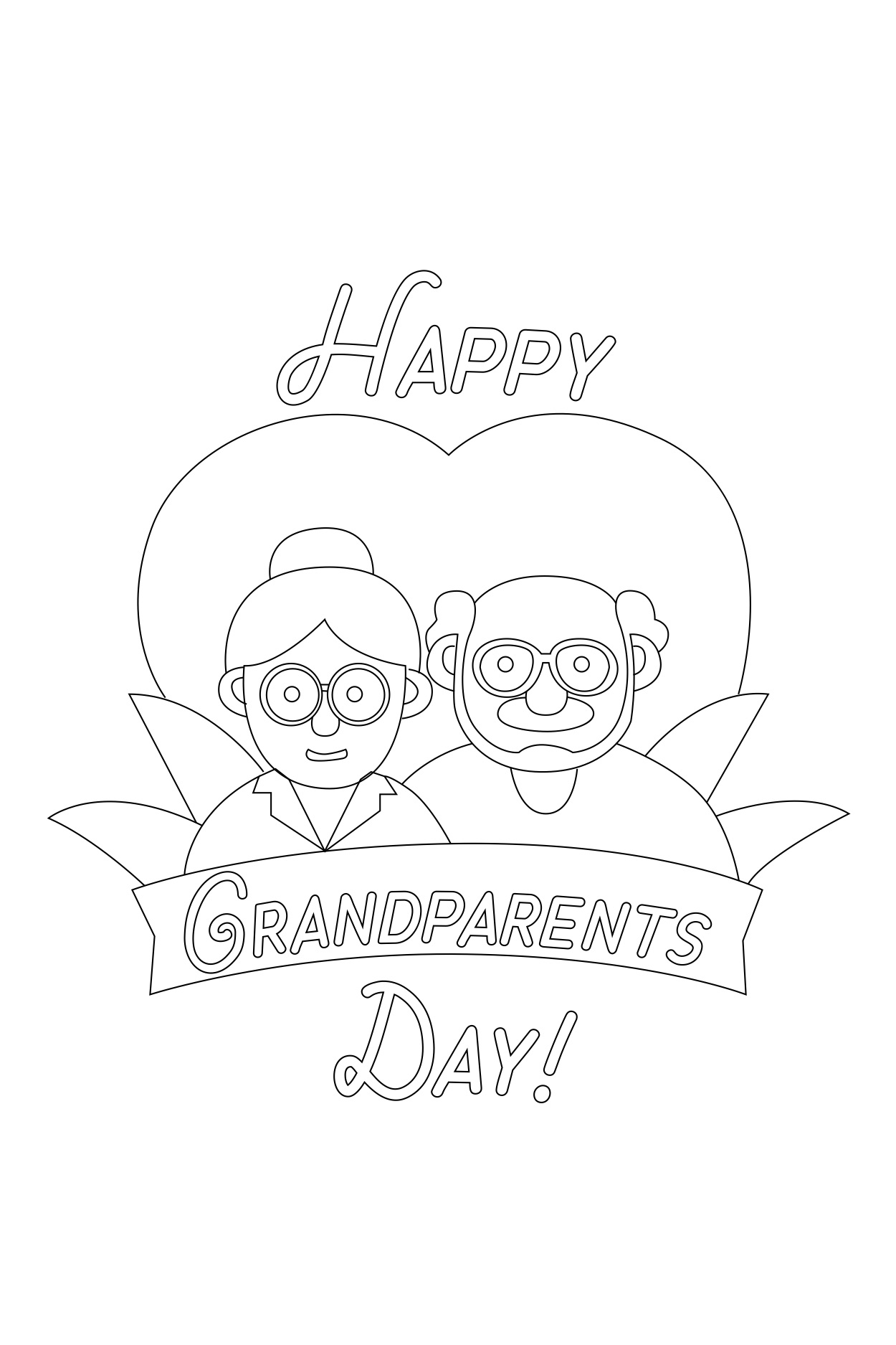 graphic regarding Grandparents Day Cards Printable named The Sweetest Grandparents Working day Playing cards for the Simplest Outdated Americans