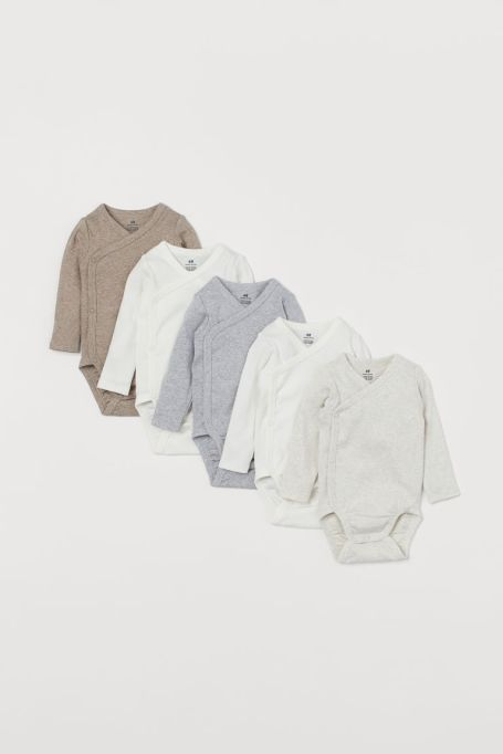 These Gender-Neutral Clothing Lines for Kids Are So Chic: H&M Onesies