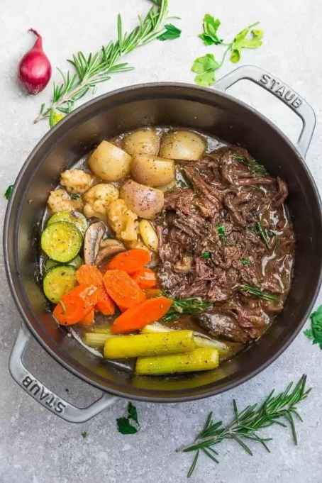 Instant Pot Keto Pot Roast